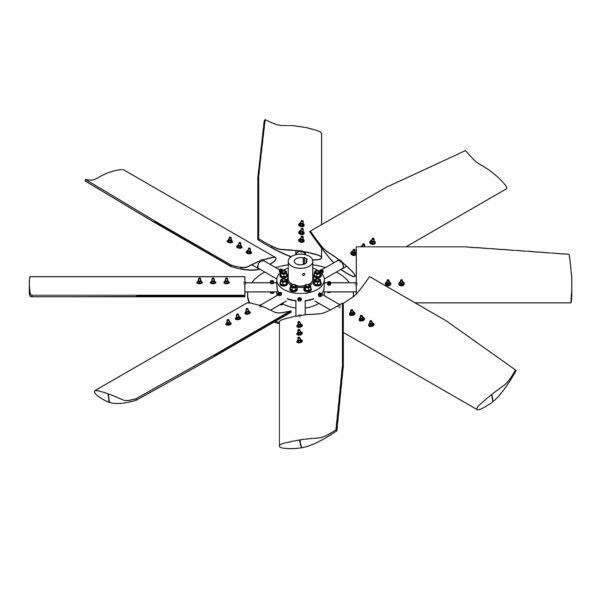 فن برج خنک کننده (fan)
